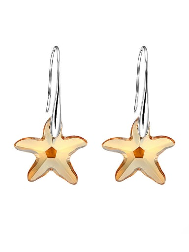 Five-point Star Shaped hook earring