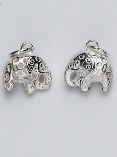 925 Sterling Silver With Silver Plated Cute Animal Charms