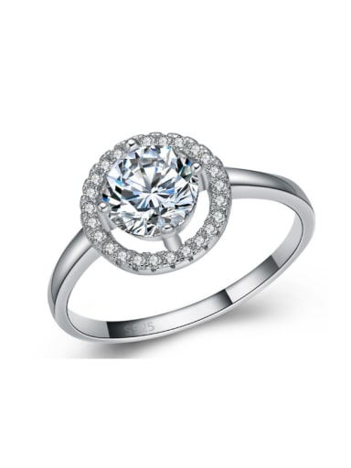 Micro Pave High Quality Women Ring