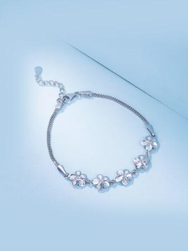2018 Women Adjustable Length Flower Shaped Bracelet