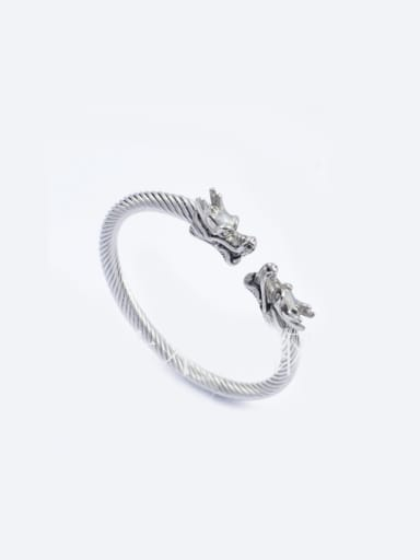 Punk Style Dragon Opening Bangle