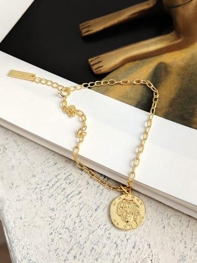 Sterling Silver  irregularities relief embossed Bracelet