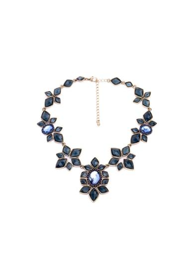 Personality Diamond Stones Necklace