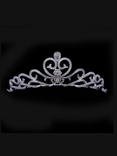 Heart Pattern Crown-shape Birthday Wedding Hair Accessories