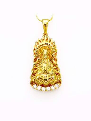 Ethnic style Goddess of Mercy Pendant