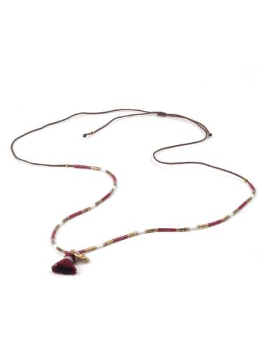 Creative Tassel DIY Tassel Necklace