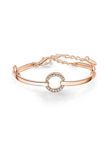 Adjustable Round Shaped Austria Crystal Bracelet