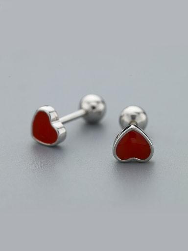 2018 Women Delicate Heart Shaped Earrings