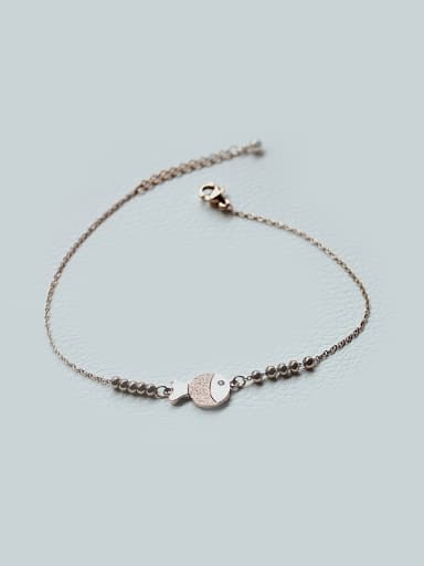 Frosted Clown Fish Women's Anklet