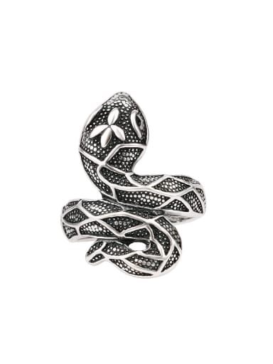 Retro style Personalized Snake Alloy Ring