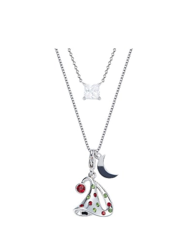2018 Christmas Hat Shaped Necklace