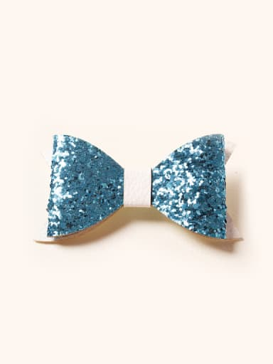 2018 2018 Glitter Bow Hair clip