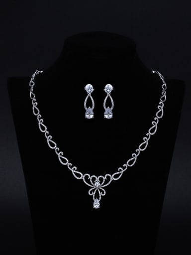 Bridal Wedding Necklace Europe and America Style Accessories