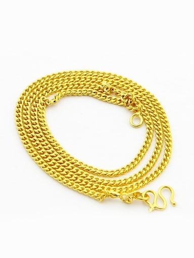Personality 24K Gold Plated Geometric Shaped Necklace