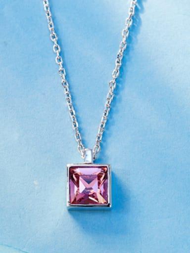 2018 Square-shaped Swarovski Crystal Necklace
