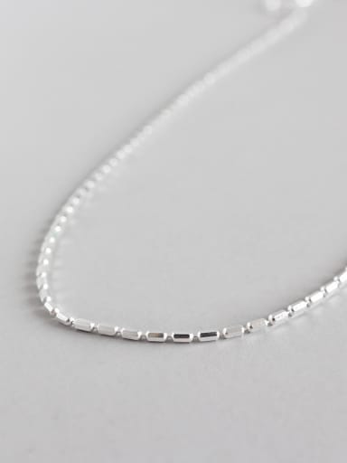 925 Sterling Silver With  Simplistic Necklaces
