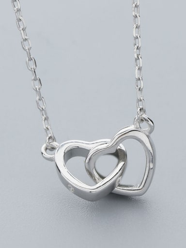 2018 Double Heart Necklace
