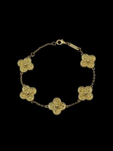 Clover Zircon Bracelet