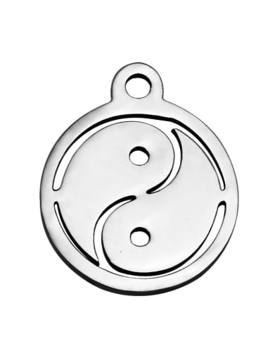 Stainless Steel With Personality Round With the Great ultimate Charms