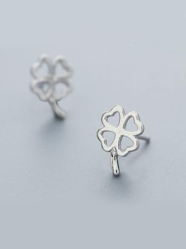 Women Elegant Flower Shaped cuff earring
