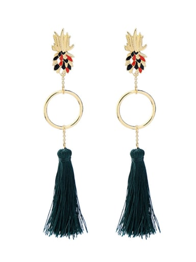Retro Long Tassel Drop Chandelier earring