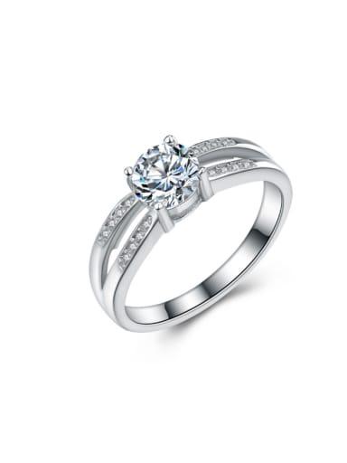 Micro Pave Zircon Fashion Women Ring
