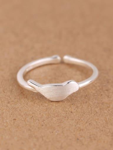 Simple Little Bird Opening Midi Ring