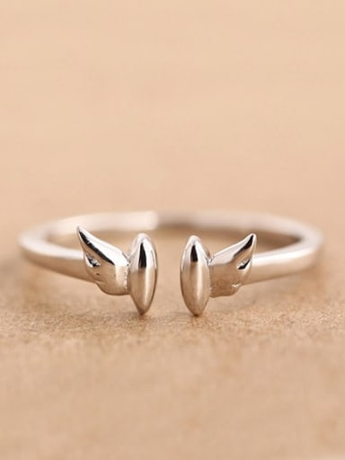 Little Angel Wings Opening Midi Ring