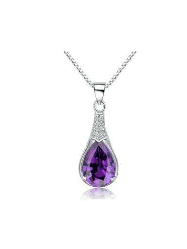 Amethyst Water Drop High Quality Fashion Pendant
