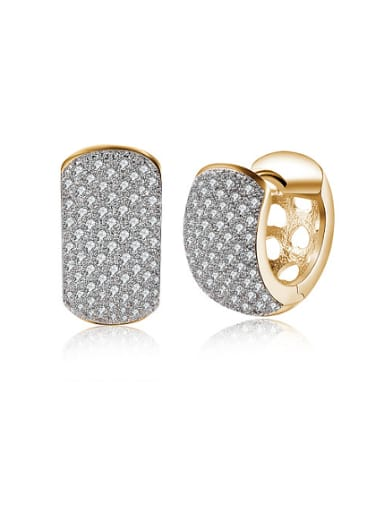 European and American fashion personality exquisite clip on earring clip on earring ladies C20076