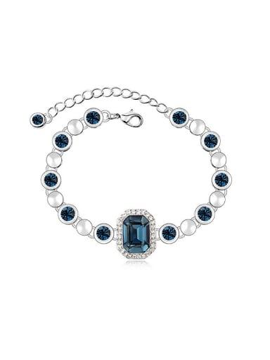Fashion Swarovski Crystals Alloy Bracelet