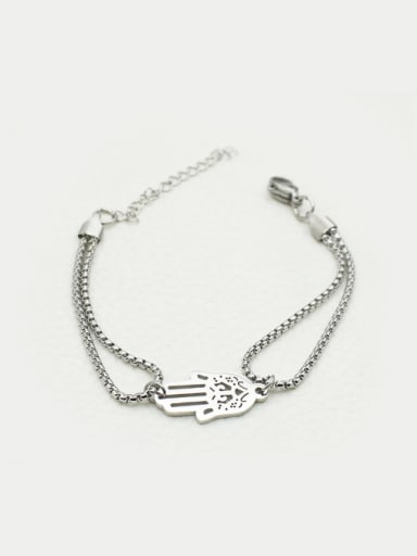 Stainless Steel Palm Accessories Bracelet