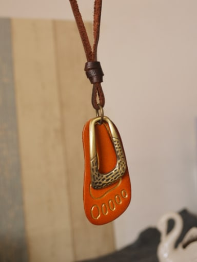 Couples Delicate Foot Shaped Necklace