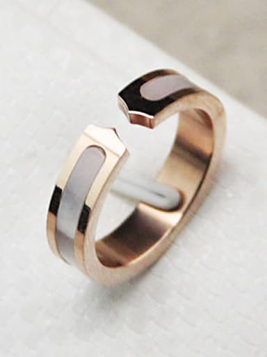 Lover Shell Classical Opening Ring