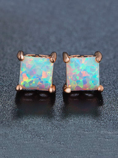 Square Shaped stud Earring