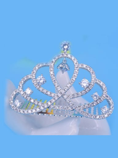 Small Crown Shaped Fashion Wedding Party Hair Accessories