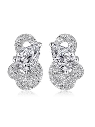 Small Duck Accessories Women Shining Stud Earrings