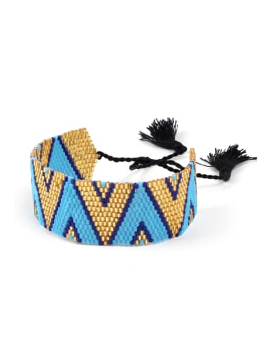 Exaggerate Colorful Bohemia Style Tassel Bracelet