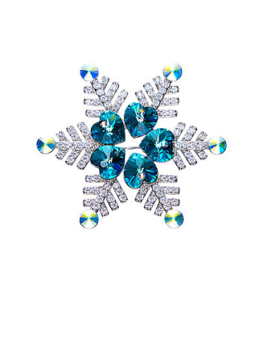 Snowflake Shaped Brooch