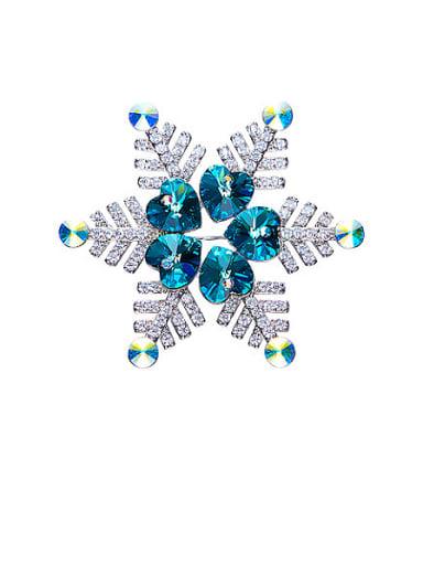 Snowflake Shaped Brooch