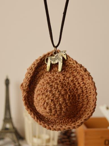 Ethnic Style Women Hat Shaped Necklace