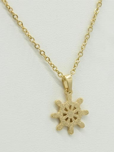 Rero Anchor -shape Sweater Necklace