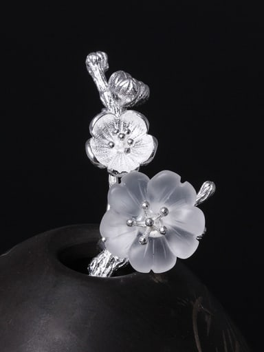 Retro Design Crystal Women Brooch