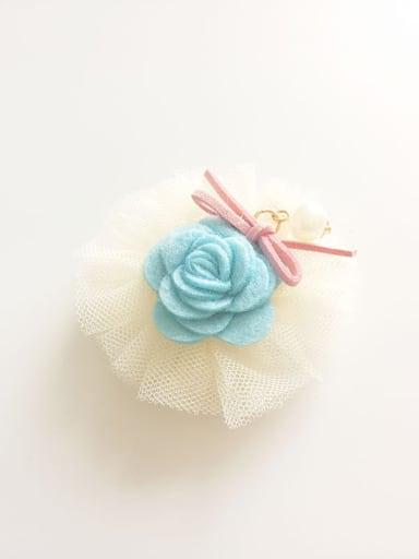 Yarn Rose Hair clip