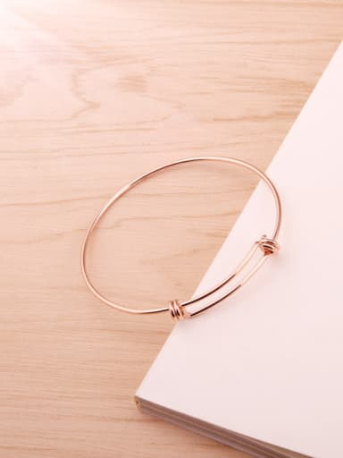 Minimalist Fashion Personality Adjustable Bangle