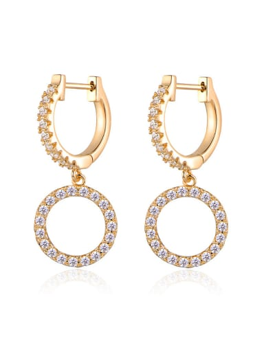 18K Gold Plated drop earring