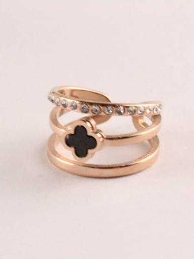 Multi-layer Korean Style Opening Ring
