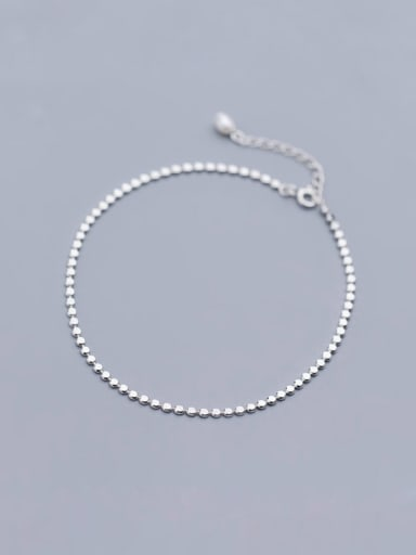 925 Sterling Silver With Silver Plated Fashion Geometric Bracelets