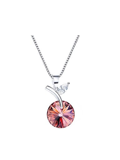 Round-shaped Crystal Necklace