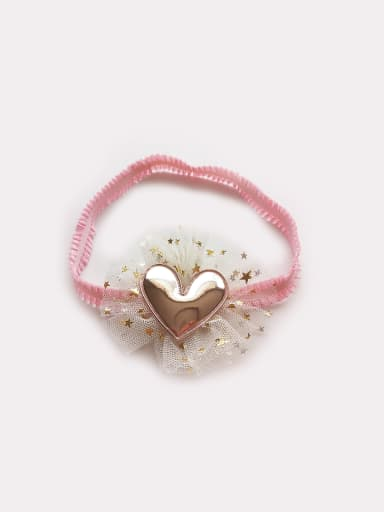PU Heart bady headband